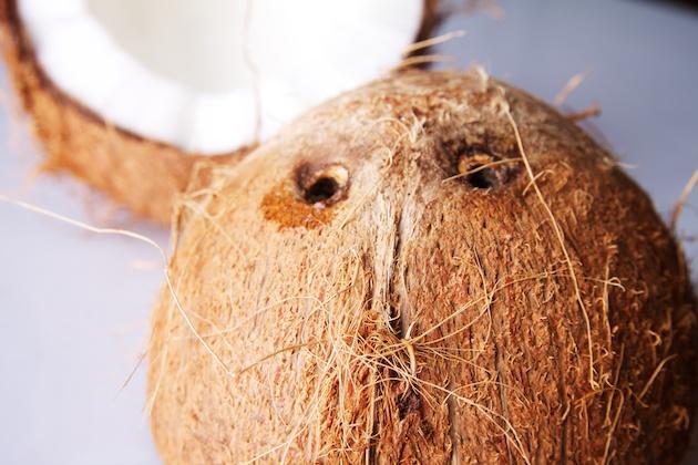 Kokosnoot ogen