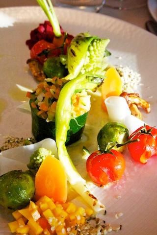groentepallet van de chef bij Potiron