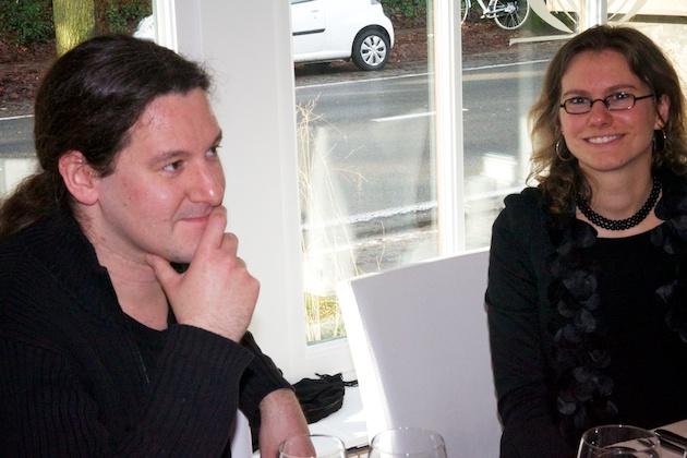 Stijn De Kock en Elke Aerts bij Potiron