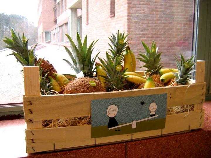 Fruitkrat bij geboorte