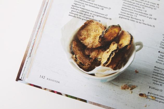 Courgette uit het boek Super healthy snacks