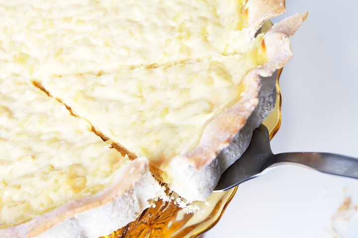 Koemelk- en lactosevrije rijsttaart
