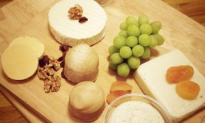 Kaas gemaakt van noten - vegan trend NY