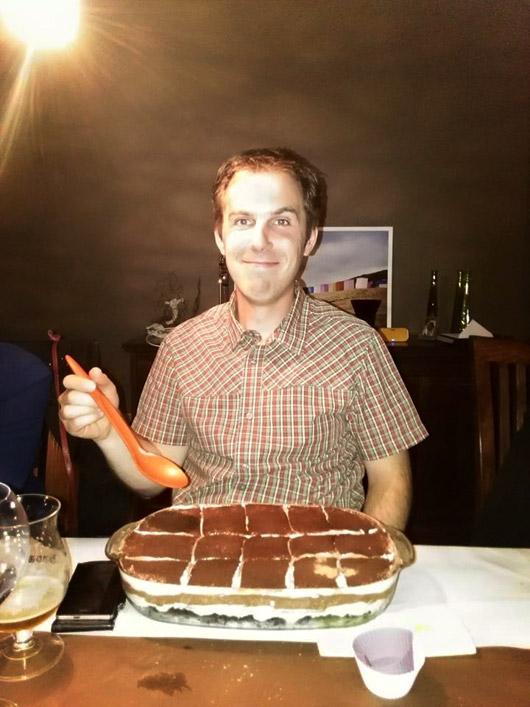 Chocolade lasagne met Kristof Boeckx