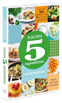 Slechts 5 ingredienten vegetarisch