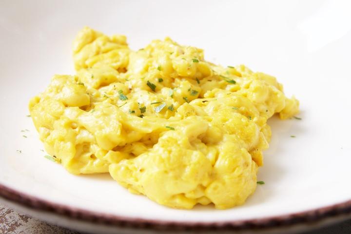 V-eggie roerei zonder eieren