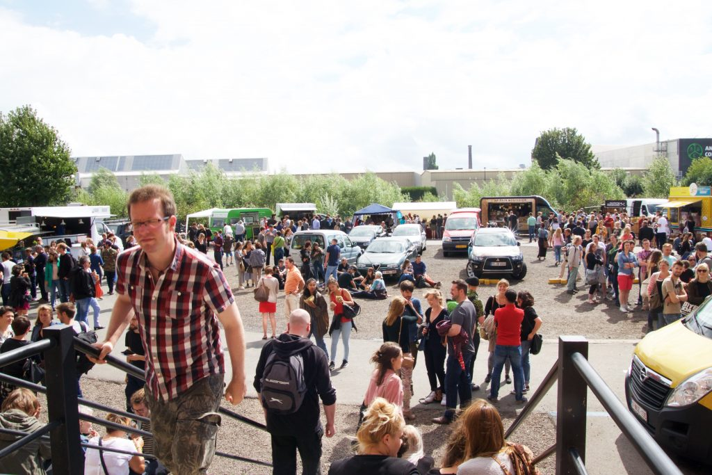 Vegan summer Fest Gent 2016 - foodtrucks