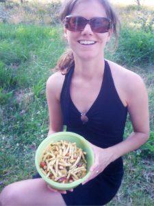 vegan eten onderweg