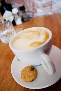 Koffie met sojamelk