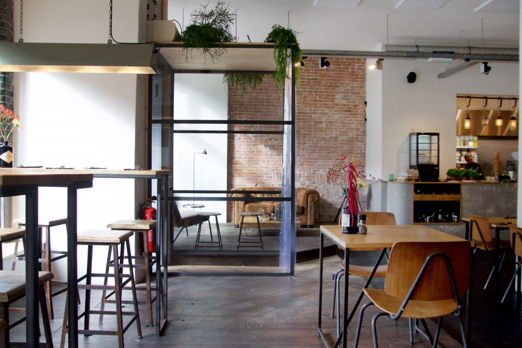 Meatless District Amsterdam interieur