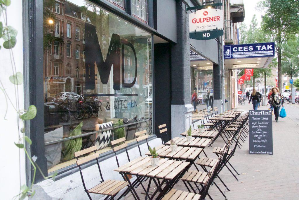 Meatless District Amsterdam terras