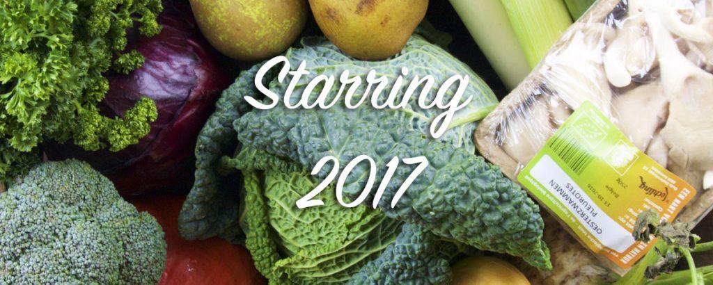 Vegan food trends 2017