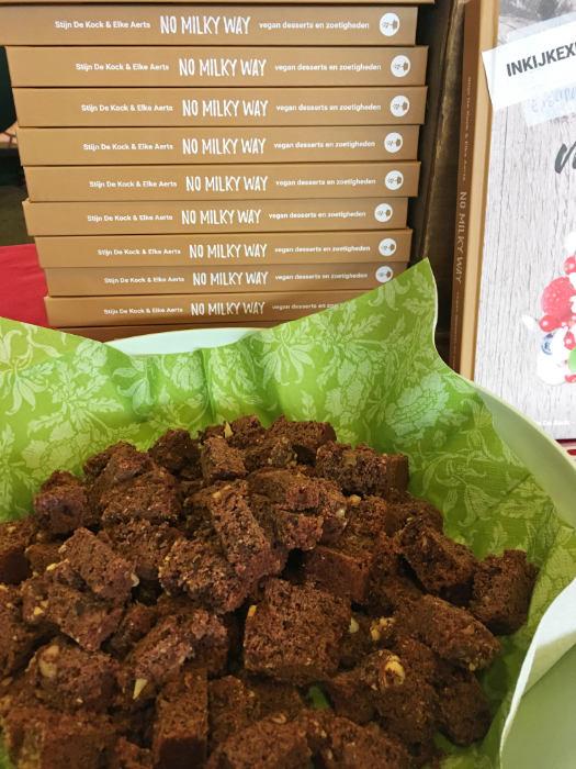 Vegan brownies als proeertje
