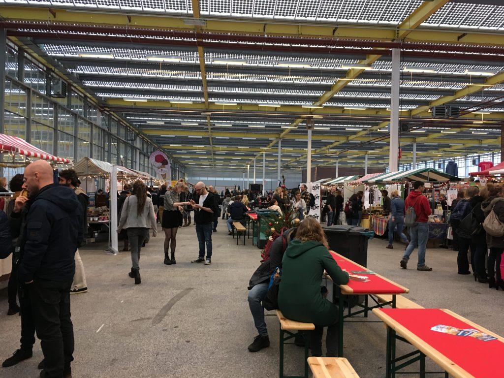 Bezoekers Veggieworld Winter Fair