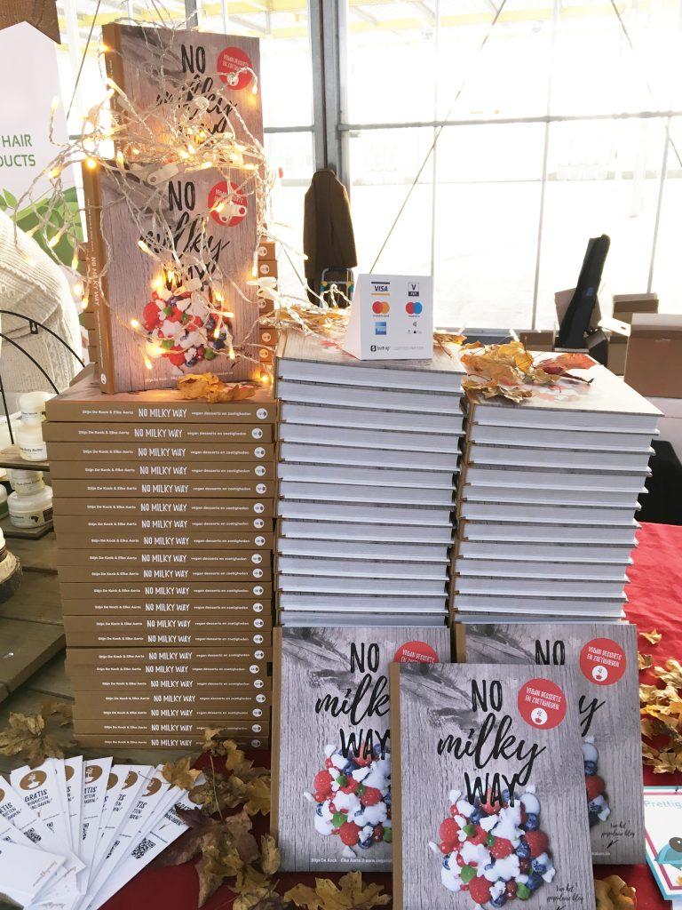 Ons boek No Milky Way op Veggieworld Winter Fair 2017