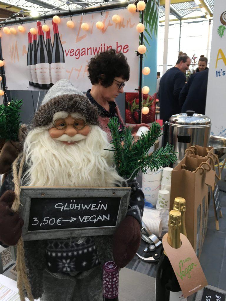 Vegan kerstmarkt met gluhwein