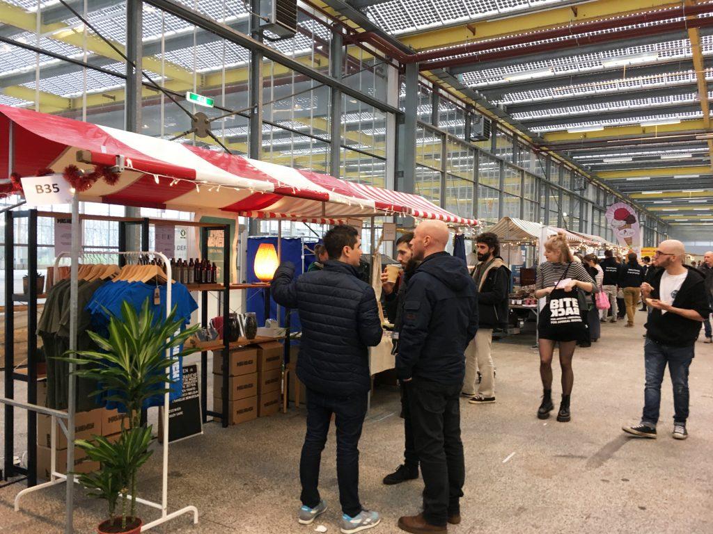 Mas Newen op Veggieworld Winter Fair