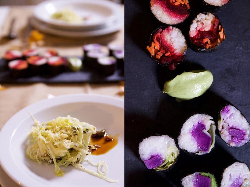 Vegan sushi van de Levensboom