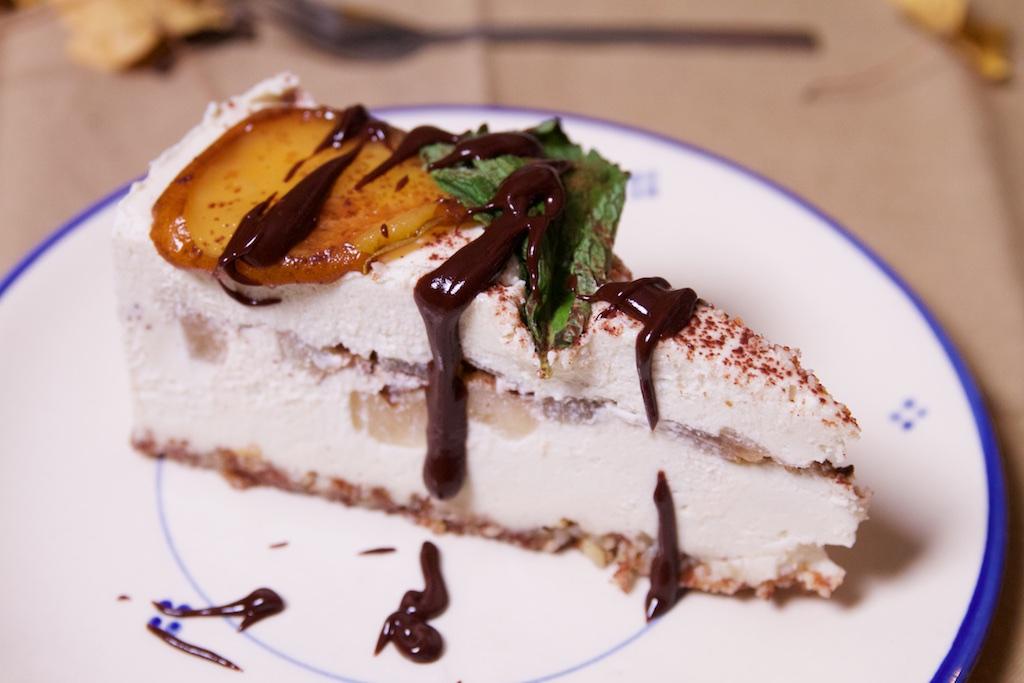 vegan cheesecake van de Levensboom