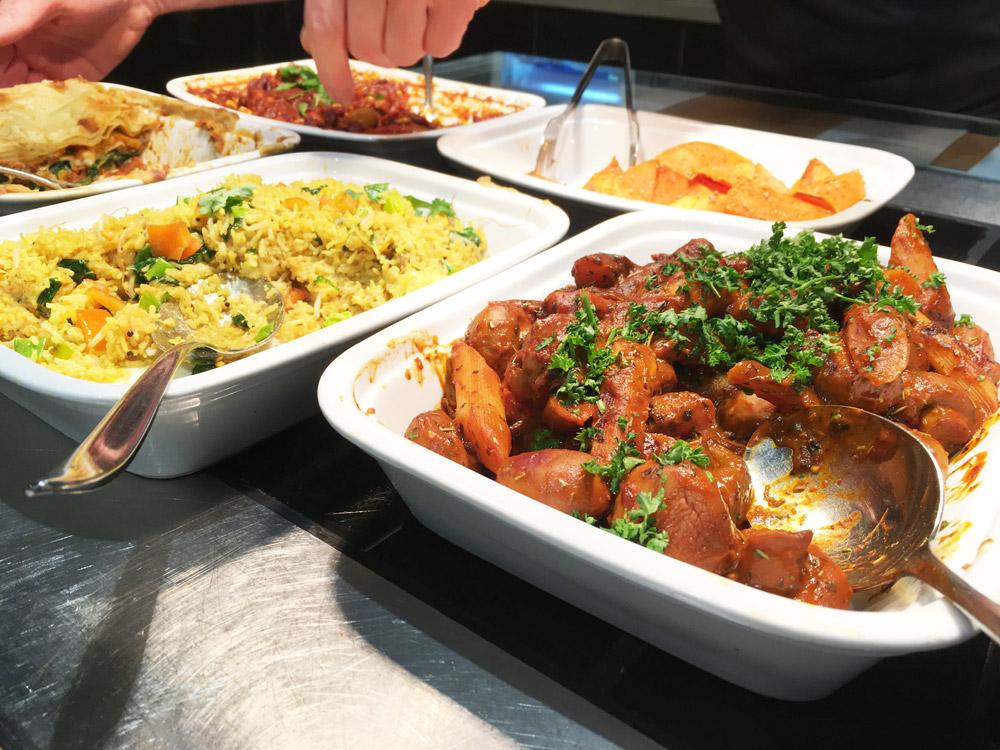 buffet bij Noordoever
