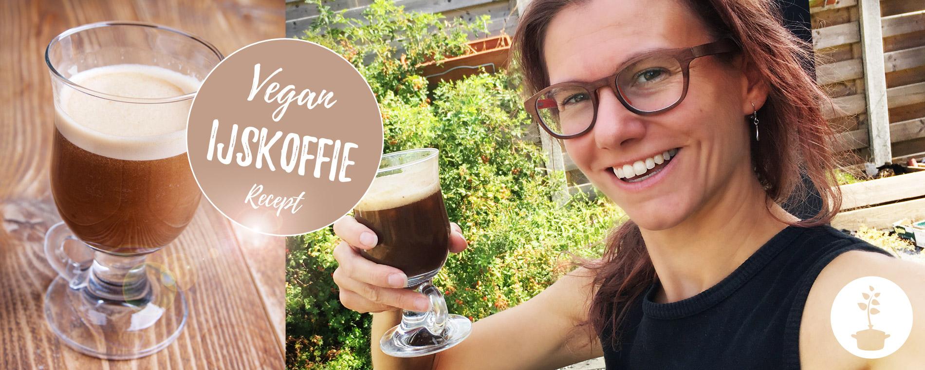Vegan ijskoffie maken - recept - suikervrij