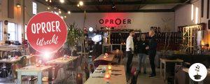 Oproer Utrecht - brouwerij en vegan restaurant