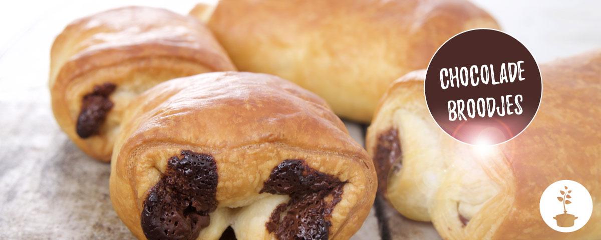 chocoladebroodjes maken - snel, makkelijk en vegan recept
