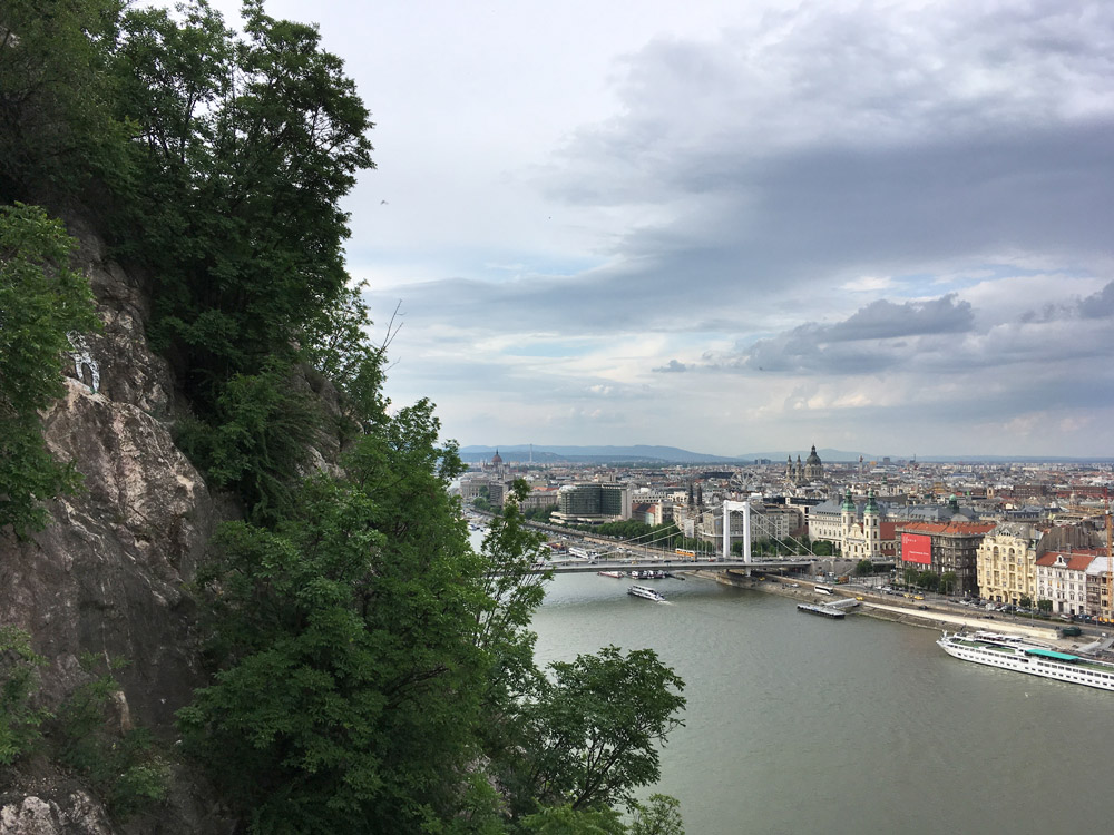Gellertberg - uitzicht