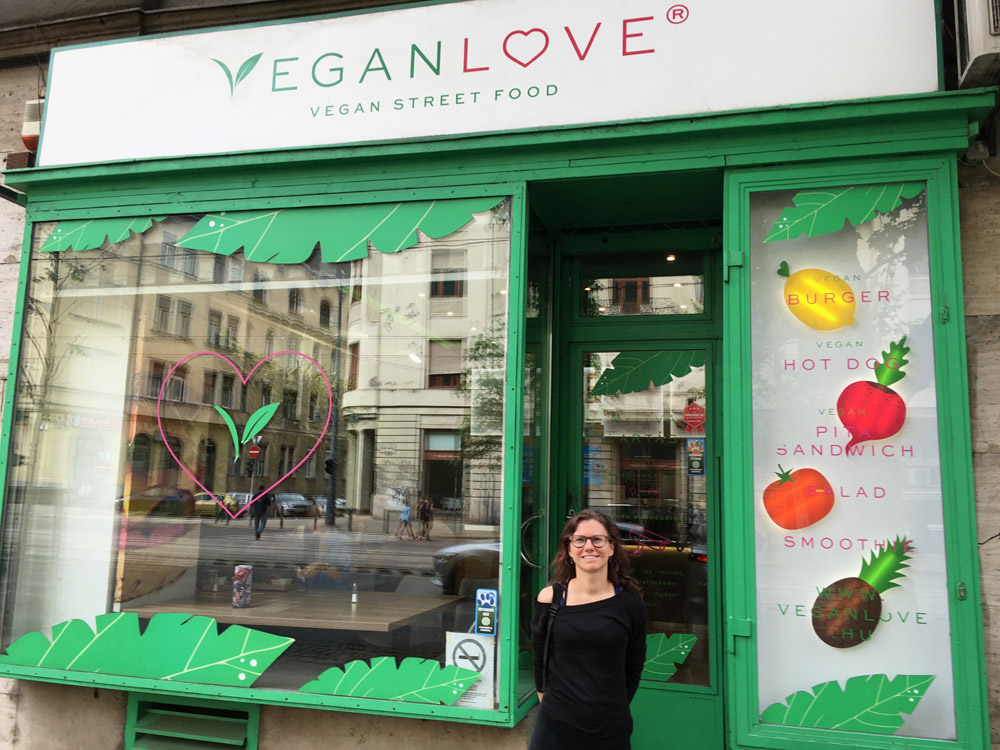 Veganlove in Boedapest