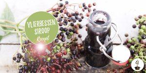 Vlierbessensiroop en vlierbessensap maken -gezond recept voor je weerstand