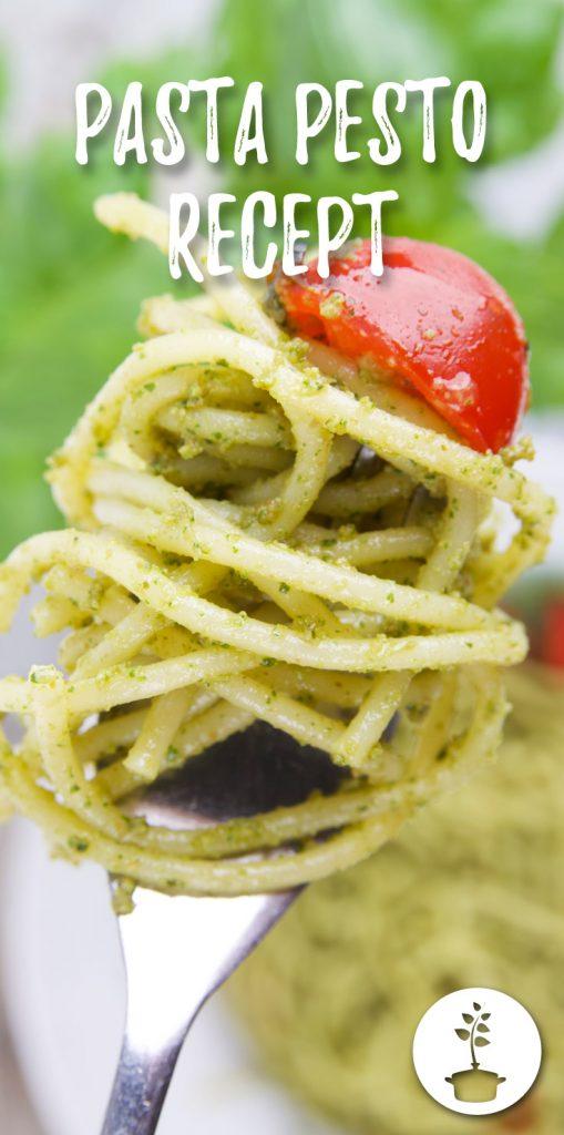 pasta pesto - veganistisch recept