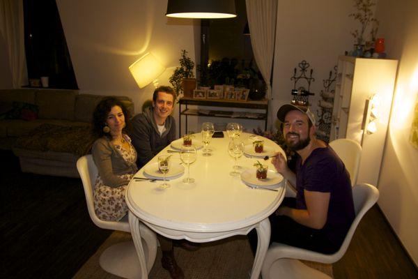 Veganistisch etentje in Antwerpen
