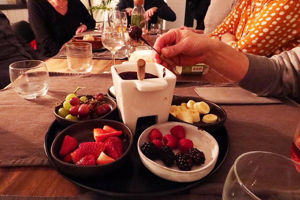 Chocolade fondue Lento