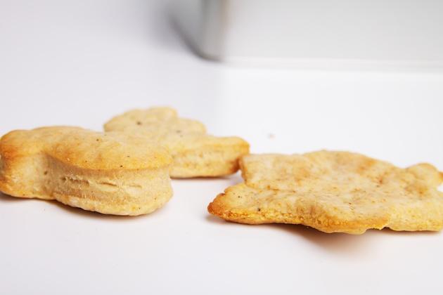 2 versies van de koekjes: dik en dun