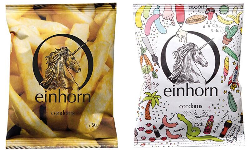 Einhorn vegan condooms