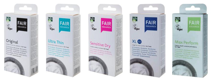 Fair squared - vegan condooms
