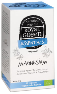 Royal green magnesium vegan