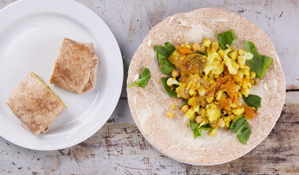 Burrito's uit Vegan Vibees boek