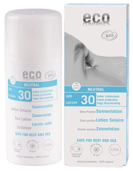 eco cosmetics zonnebrand