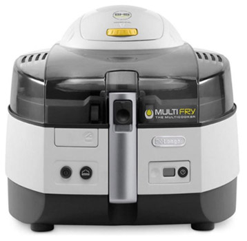 De'Longhi multifry Extra chef - airfryer zonder teflon
