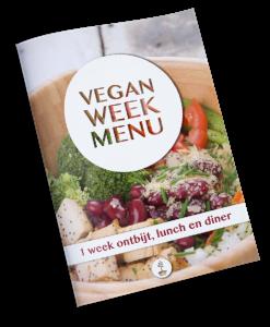 Vegan weekmenu