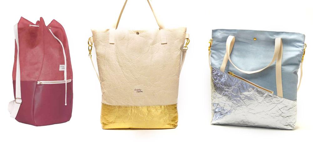 Kaliber Fashion - tas van ananasleer