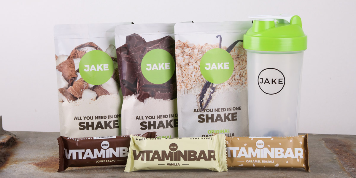 Jake food - shakes en vitaminbar review