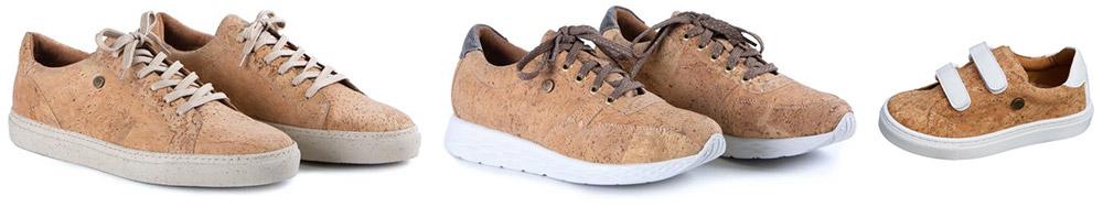 Treec kurken sneakers