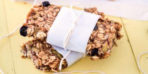 Fruitige granola bars maken - vegan recept