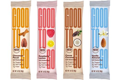 Good to go - keto en vegan reep