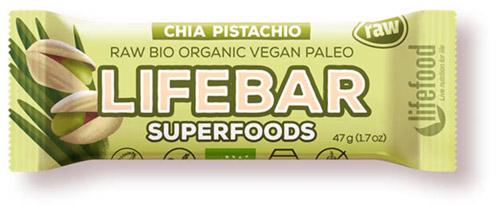 Lifebar superfoods vegan, bio, paleo, raw