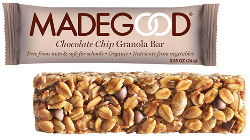 Madegood vegan granola bar