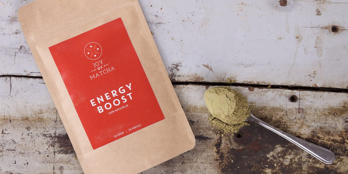 Joy of Matcha review Energy Boost