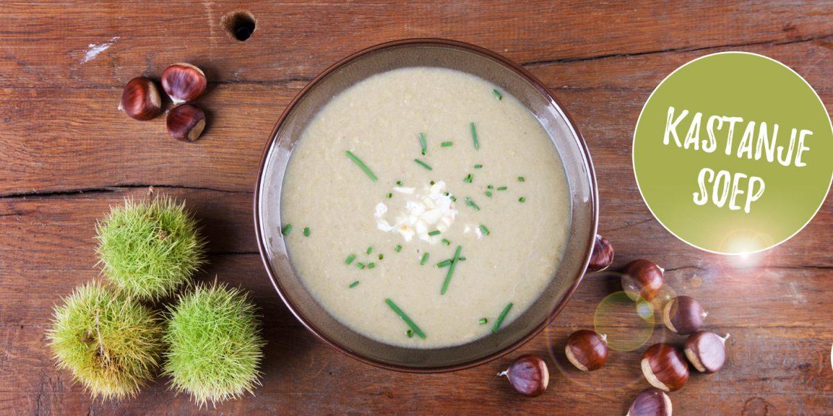 Kastanjesoep maken - recept met verse kastanjes